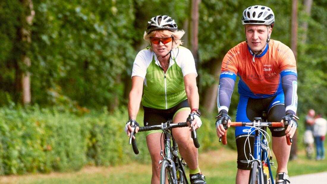 100 Kilometer auf dem Rennrad