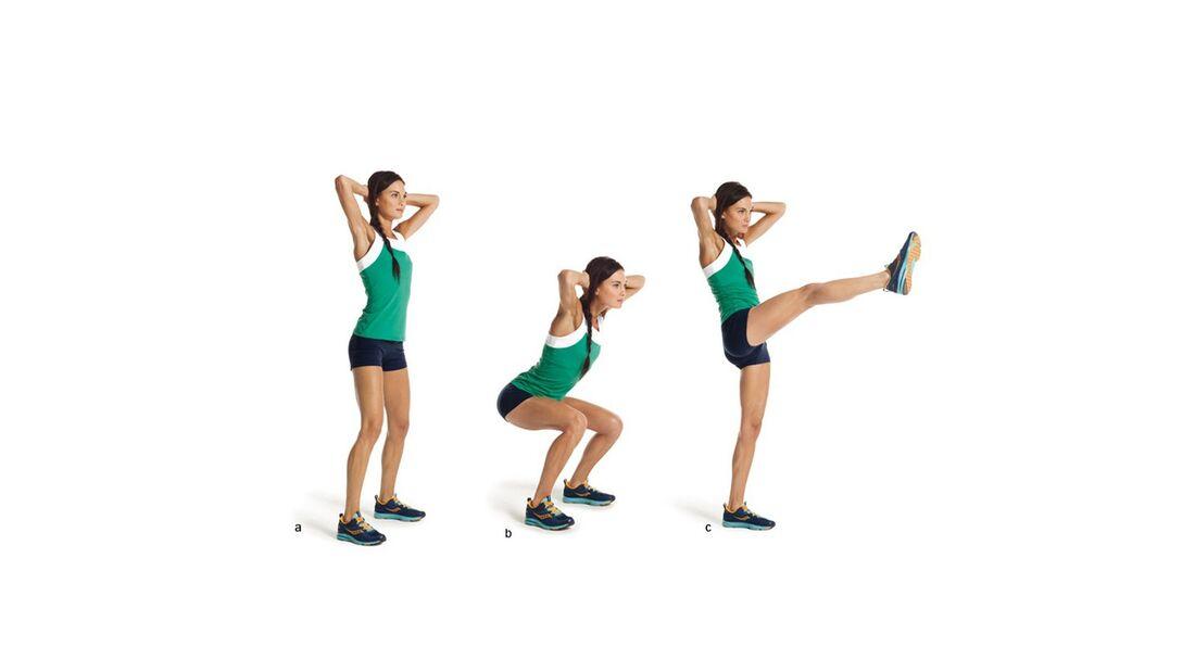 15 Minuten Workout: Beintritt