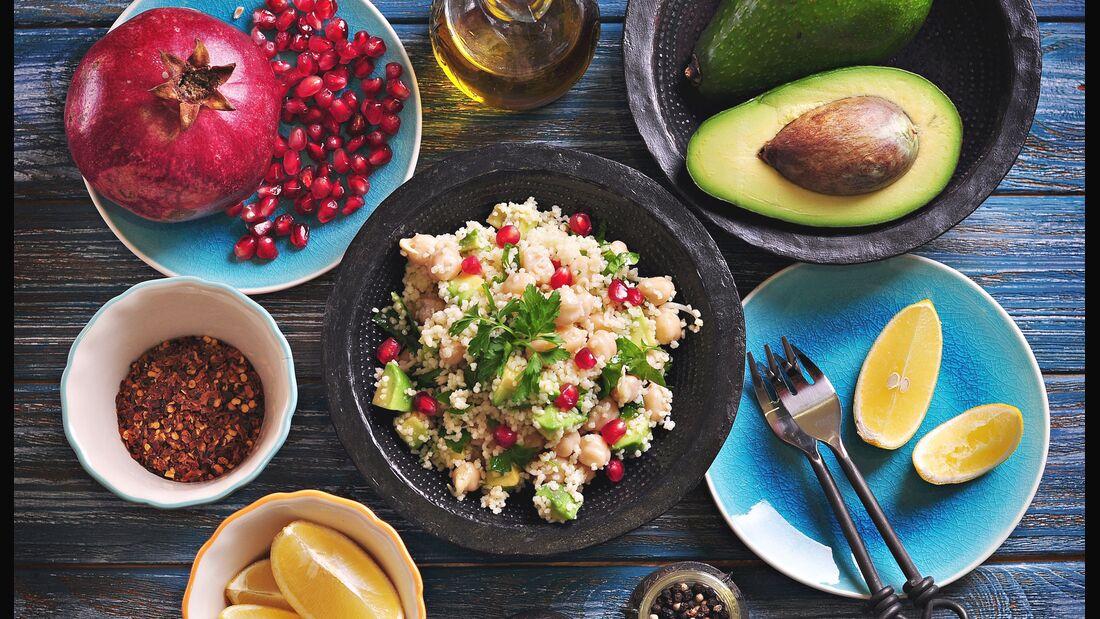 Menüs fettfreie Ernährung