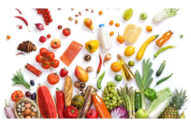 Makrobiotische Ernährung ist Menü