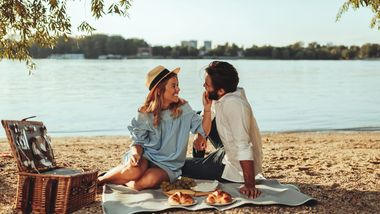 Ab geht's zum Picknick