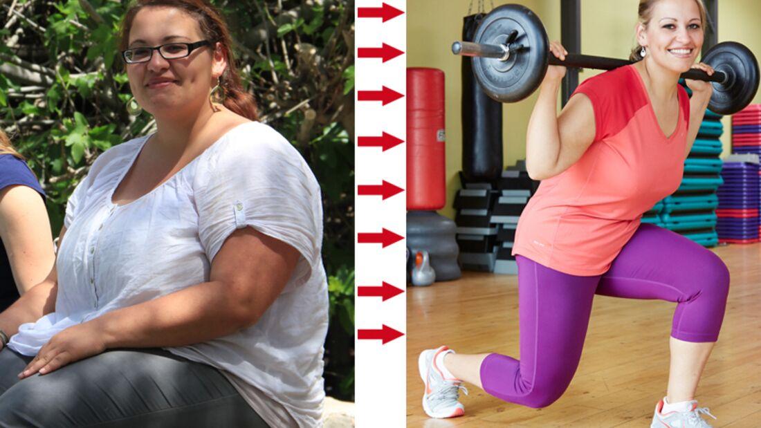 Abnehm-Erfolg: Aylin wog vorher 125 Kilo und nachher 65 Kilo