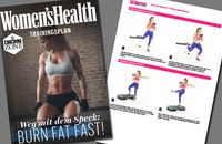 Abnehm-Trainingsplan Burn Fat Fast