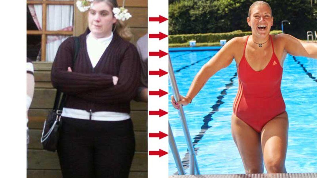 Gewichtsverlust 10 kg in einem Jahr