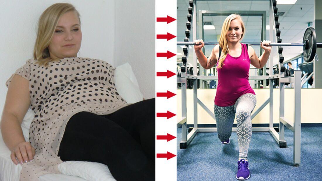 Adrienne hat 13 Kilo abgenommen
