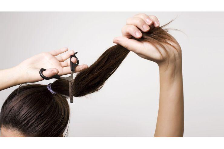 Lange haare stufenschnitt glatte Lange Haare
