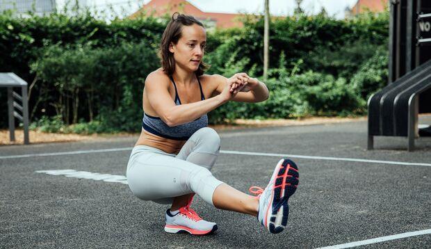 Auch in der Schwangerschaft machte Irina viel Sport
