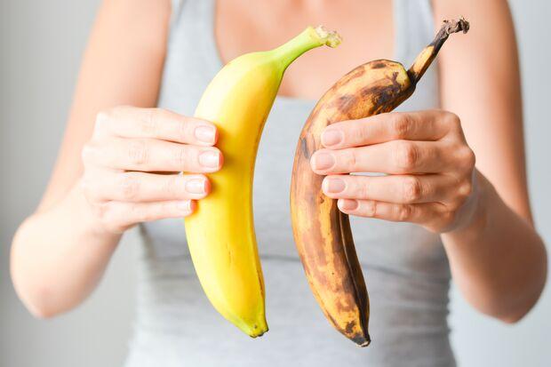Aus brauen Bananen können Sie noch einen leckeren Smoothie mixen