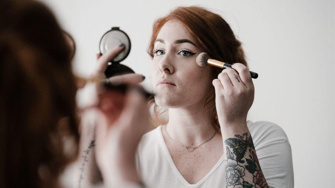 Beauty-Sünde: Make-up Ränder