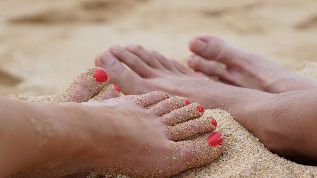 Beauty-Sünde: Ungepflegte Fußnägel