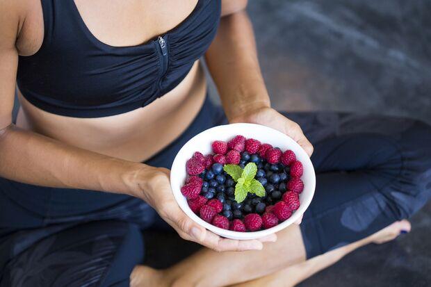 Beeren sind ein natürlicher Stoffwechsel Booster