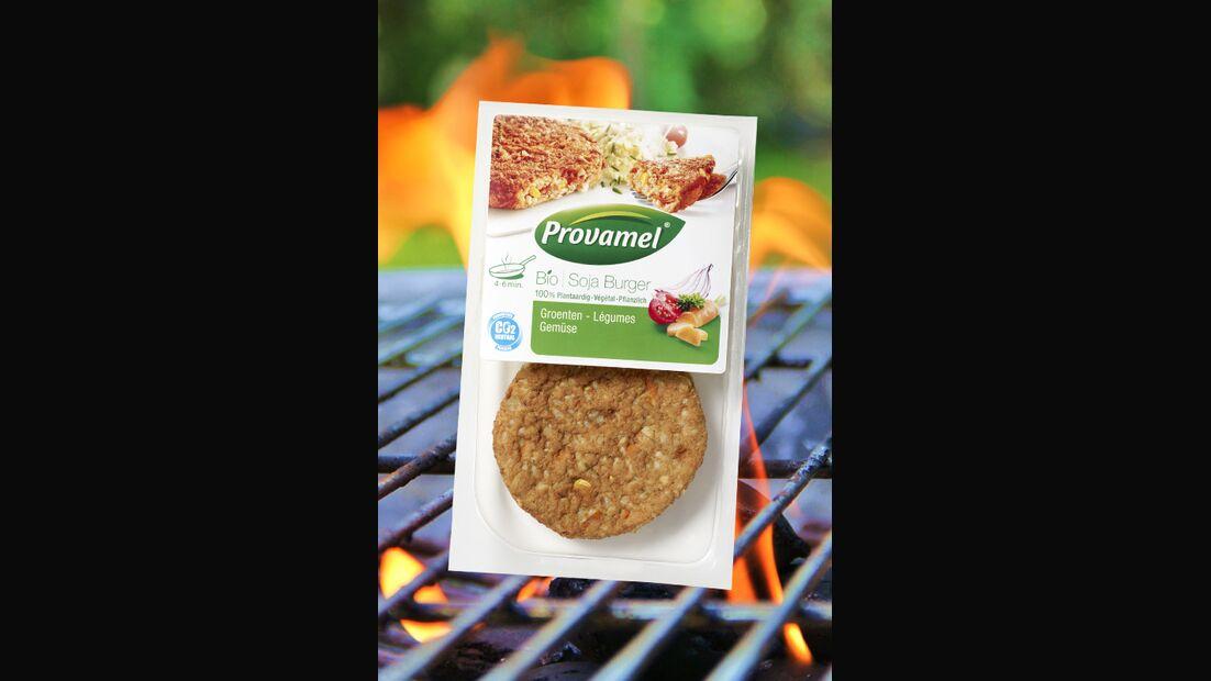 Bio Soja Burger Gemüse von Promavel