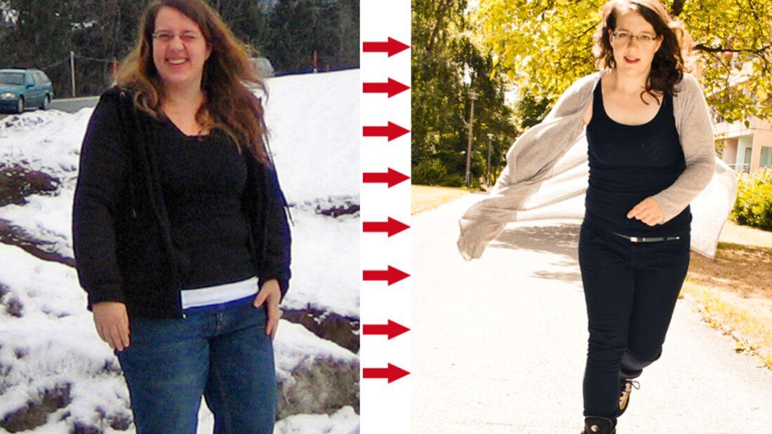 Birgit hat 22 Kilo abgenommen
