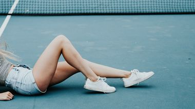 Body-Make-up für makellose Beine