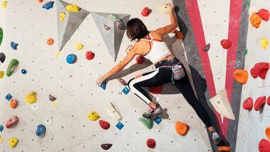 Bouldern ist ein super Ganzkörpertraining
