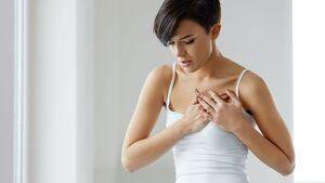 Brustschmerzen haben meist harmlose Gründe