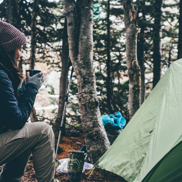 Camping ist cool! Auch, um die Melatoninproduktion ins Gleichgewicht zu bringen