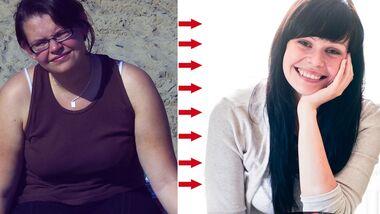 Carla hat 44 Kilo abgenommen