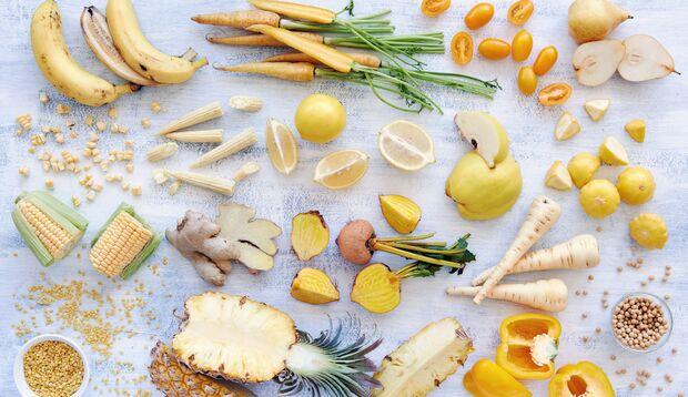 Carotinoide machen gelbes und orangefarbenes Obst und Gemüse so gesund