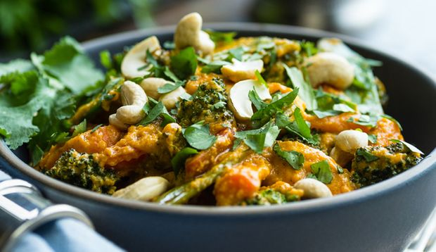 Cashewnüsse Curry