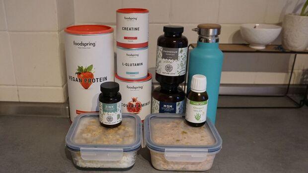 Challenge Muskelaufbau vegan