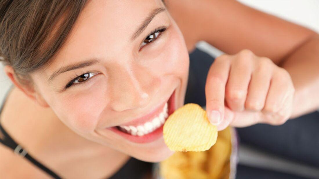 Chips sind fettig und gesund – aber ein echter Happy-Maker