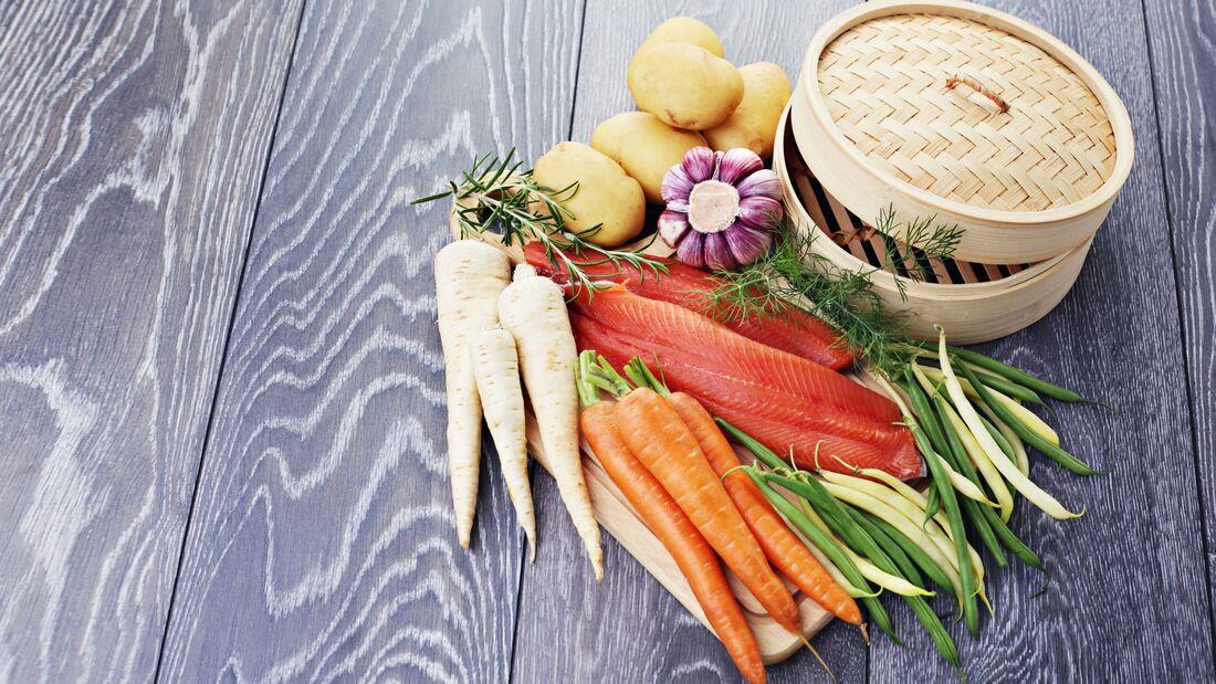 Dampfgaren ist die vitaminschonenste Garmethode