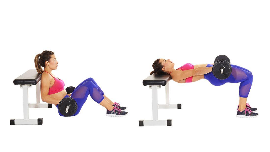 Das Po-Workout: Hip Thrusts