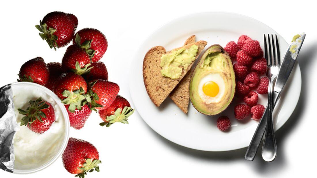 Der 1500 Kalorientag mit vielen gesunden Fetten