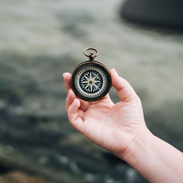 Der innere Kompass zeigt dir deinen Weg