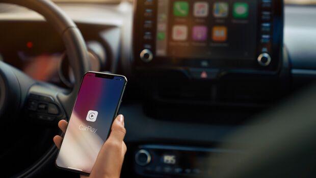 Der neue Toyota Yaris mit Apple Play