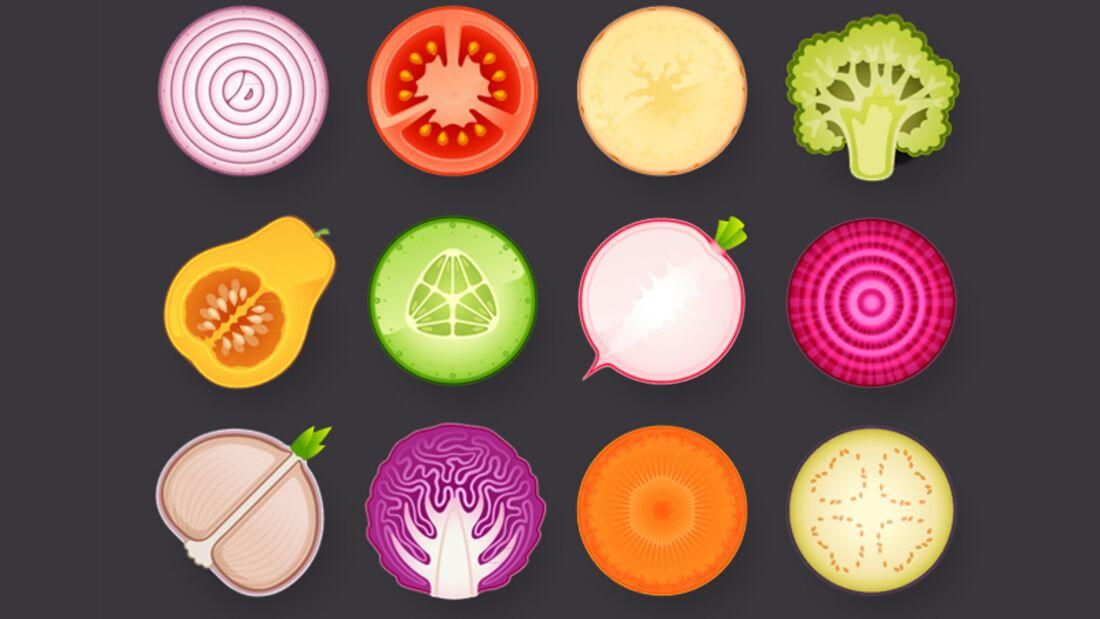 Der vegetarische Ernährungsplan zu Projekt Schlanke Beine