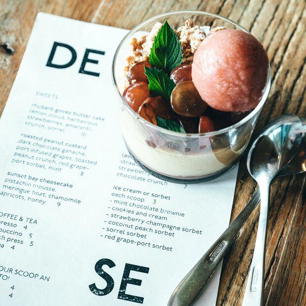 Dessert Menü