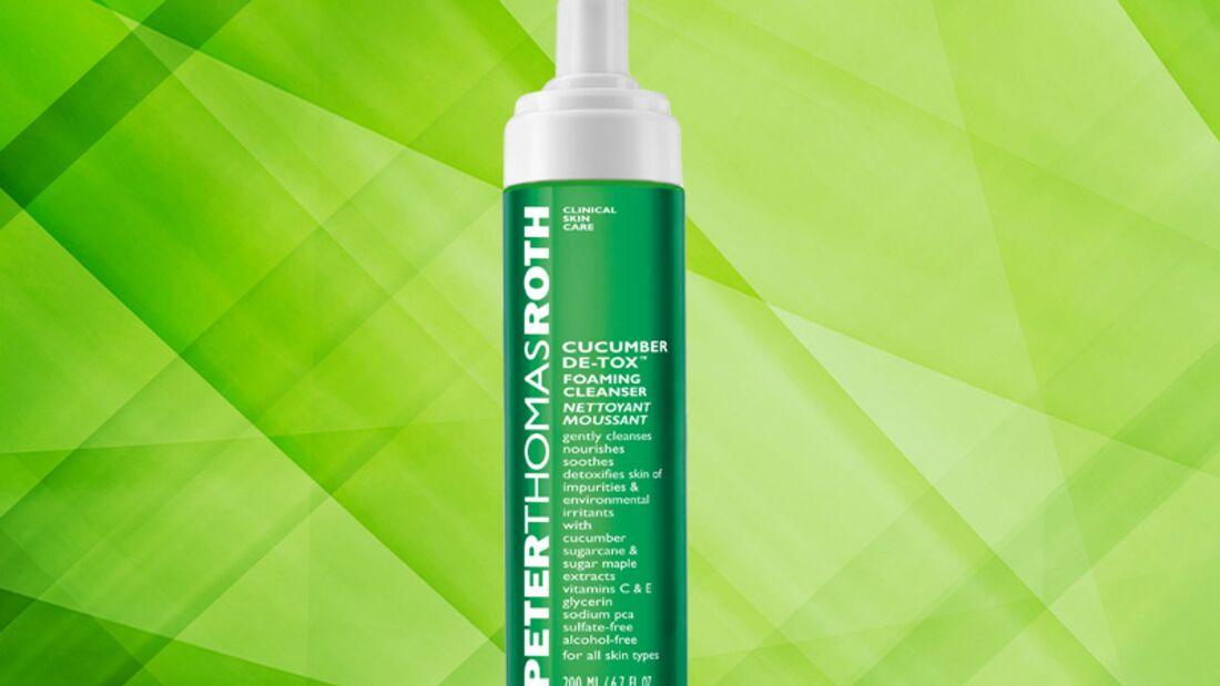 Detox Kur für die Haut: Cucumber De-tox Foaming Cleanser von Peter Thomas Roth
