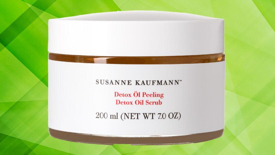 Detox Kur für die Haut: Detox Öl Peeling von Susanne Kaufmann