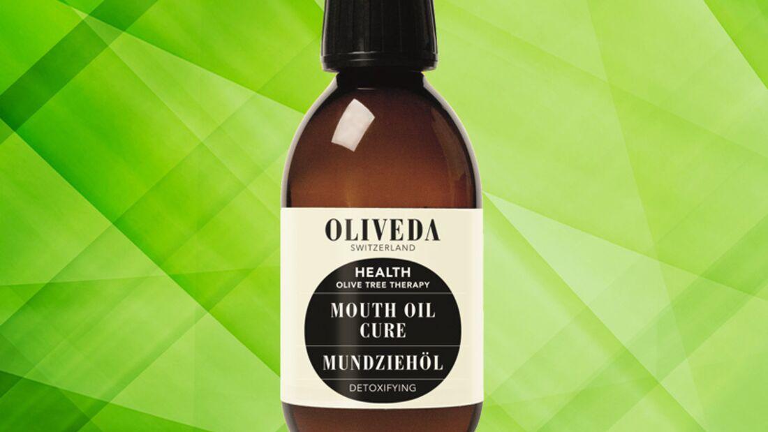 Detox Kur für die Haut: Detoxifying Mouth Oil Cure von Oliveda