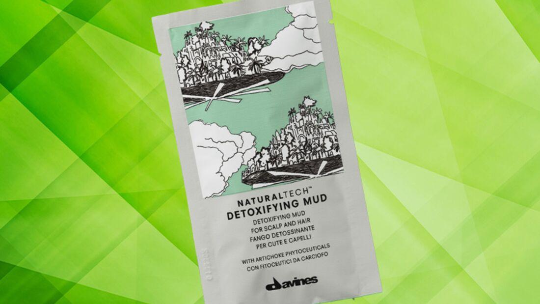 Detox Kur für die Haut: Natural Tech Detoxifying mud von Davines