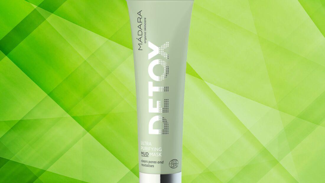 Detox Kur für die Haut: Ultra purifying mud mask von Mádara