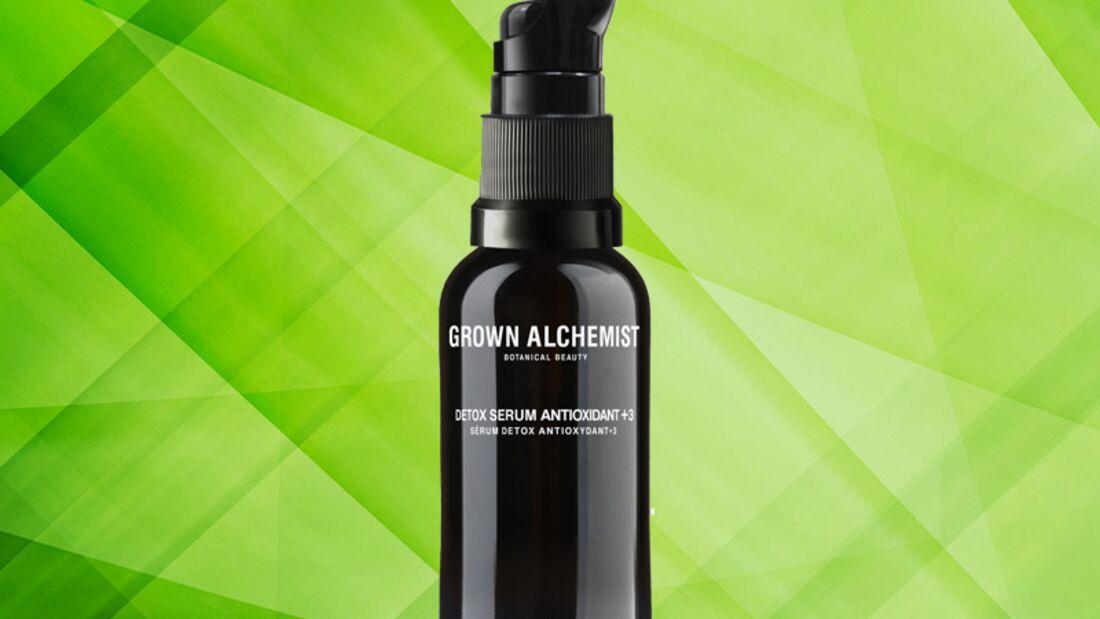 Detox Kur für die Haut: detox serum antioxidant +3 von Grown Alchemist