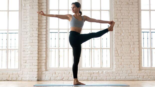 Die Flows im Power Yoga sind kraftvoll und gleichzeitig geschmeidig.