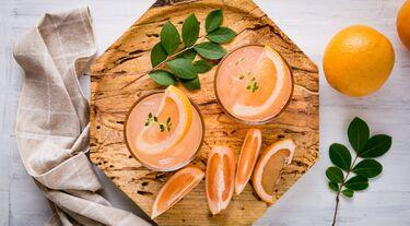 Grapefruitfrucht zur Gewichtsreduktion