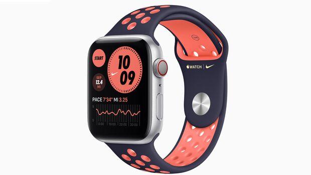 Die Nike-Sonderedition der Apple Watch 6