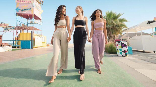 Die Sportswear von Oceans Apart trägt sich auch im ALltag super lässig