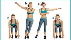 Die Workout-Übungen in Bildern