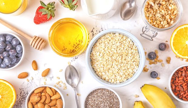 Die Zutaten für Ihr DIY-Granola