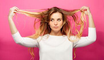Das Haar vor und nach dem Abnehmen aufhellen