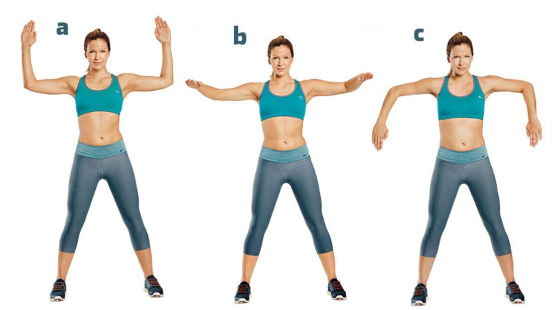 Die besten Übungen für die Traumfigur: Gekippte W-Haltung