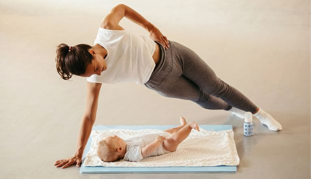 Die besten Übungen nach der Entbindung