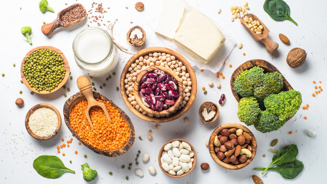 Die besten veganen Proteinlieferanten