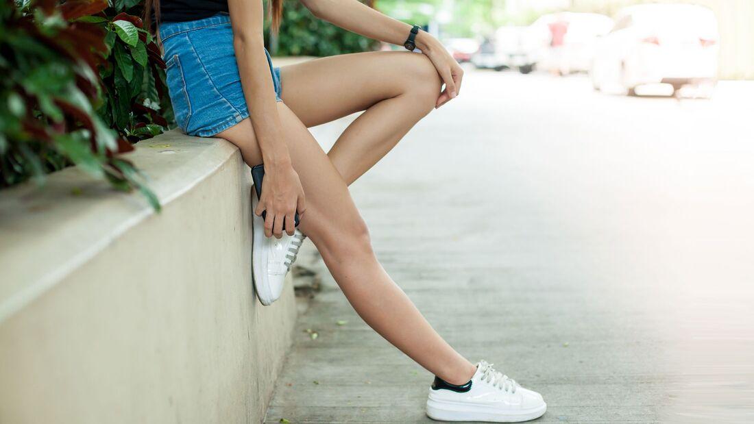 Die perfekte Schuhe Hosen Kombi